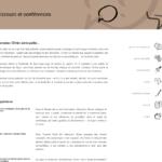 """Page """"discours et conférences"""" du site de Monsieur Olivier."""