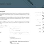 """Page """"rédaction et analyse"""" du site de Monsieur Olivier."""