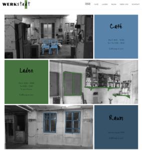 Page d'accueil du site de la WerkStadt.